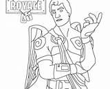 Fortnite Dessin Imprimer Coloring Coloriage Skin Noir Characters Chevalier Ninja Pioche Drawings Catho Female Boy Gratuit Pixel Archives Nounours Rose sketch template
