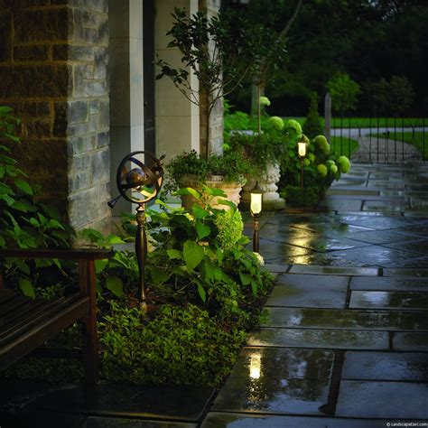 portland landscapers offer unique lighting ideas for