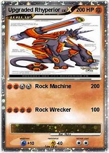 Pokémon Upgraded Rhyperior - Rock Machine - My Pokemon Card