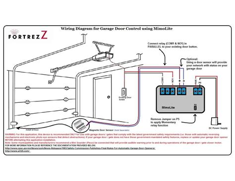 Schematic Diagram For My Garage Door Opener by Idea For A Garage Door Project Need Input Projects
