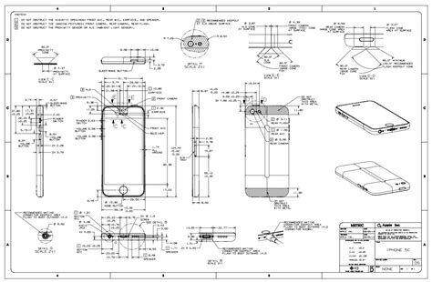 apple posts iphone  iphone  schematics case design