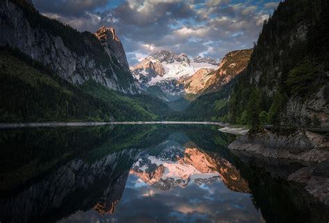 photography nature landscape mountains lake