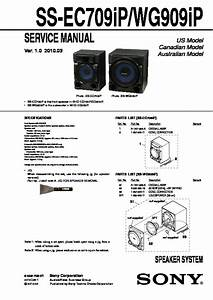 Sony Hcd-ec70  Mhc-ec70 Service Manual