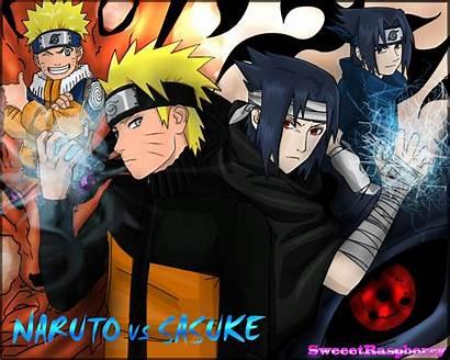 Naruto Sasuke Vs Wallpapers Chidori Rasengan Hard