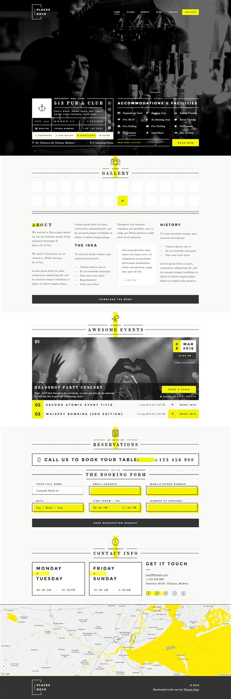 Places Dojo Awesome Directory Html Css Themes