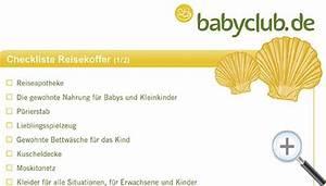 Checkliste Baby Erstausstattung Sommer : koffer checkliste ~ Orissabook.com Haus und Dekorationen