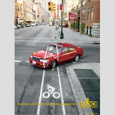 New Bike Safety Ads Urge Drivers To Look Out  The New York Times
