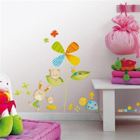 stickers chambre bebe arbre baby nursery vinyl wall