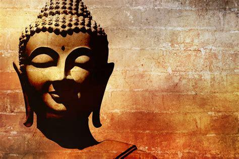 buddha mural asian zen wallpaper spa decor