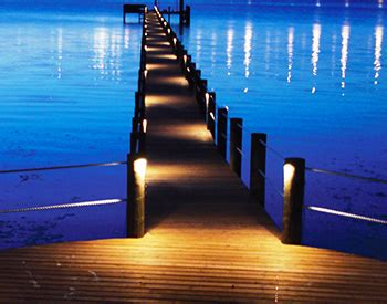 Boat Dock Lighting Fixtures by Quality Dock Lighting Installation Ft Myers Naples Cape