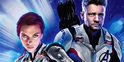 Hawkeye Black Widow Reunite New Avengers Endgame