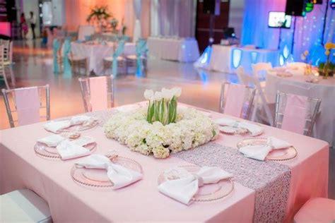 idees de decorations de mariage rose poudre  agent
