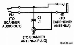 Undercover Scanner Antenna - Basic Circuit