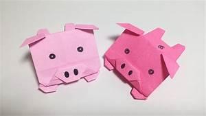 3d Origami Pig