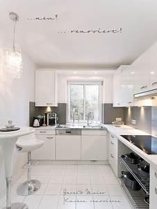 Küche Renovieren Fronten : kueche renovieren vorher nachher kueche weiss arbeitsplatte weiss ~ Pilothousefishingboats.com Haus und Dekorationen
