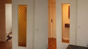 tuto changer des vitres sur une porte interieure With remplacer une porte d interieur