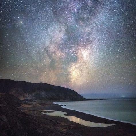 Night Sky Over Wellington New Zealand Mark Gee Milky