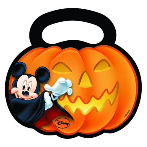 6 Halloween Disney Mickey Mouse Party Plastic Gift Favour