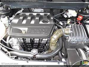 2 4l Dohc 16v Dual Vvt 4 Cylinder Engine For The 2008