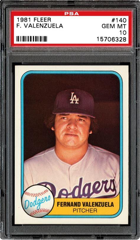 We did not find results for: 1981 Fleer Baseball Cards - PSA SMR Price Guide