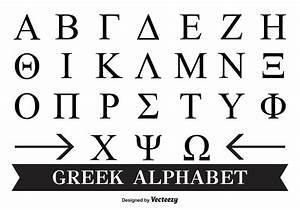 Griechisches alphabet font