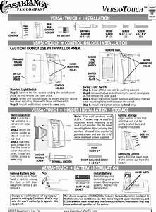 Casablanca Ceiling Fan Remote Manual