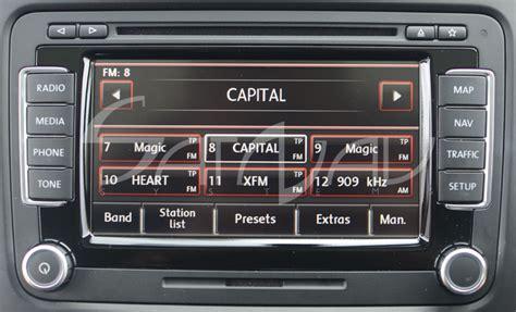 vw rns  navigation system satnav systems