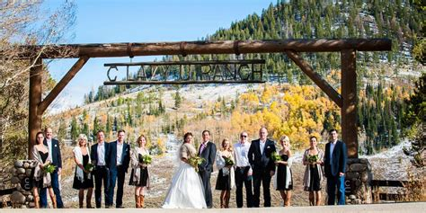colorado wedding packages c lazy u ranch weddings get prices for wedding venues in granby co