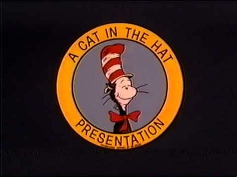 """Dr. Seuss Logo - """"A Cat In the Hat Presentation"""" - YouTube"""
