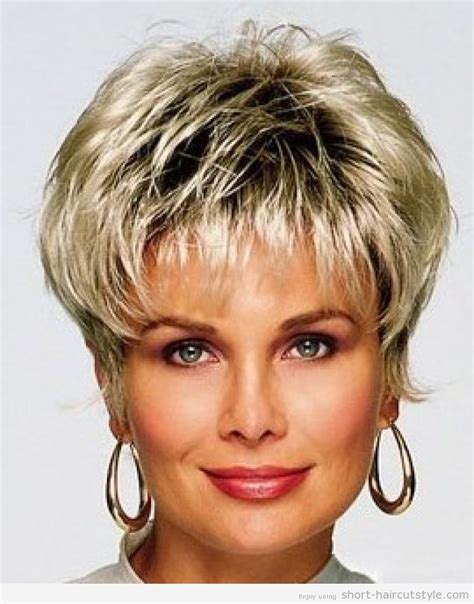 short shag hair cuts for women over 50 short hair styles for women over 40 description from