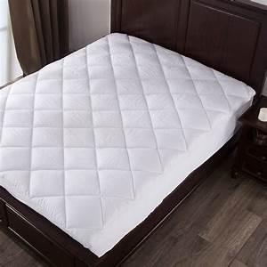 mattress pad twin size 100 cotton topper pillow top bed With cotton pillow top mattress pad