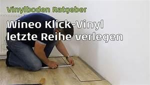 Preis Laminat Verlegen : wineo vinylboden letzte reihe verlegen youtube ~ Frokenaadalensverden.com Haus und Dekorationen