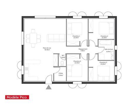 maison 2 chambres plan maison modele droit t5 pico95m2 0 jpg 1200 900