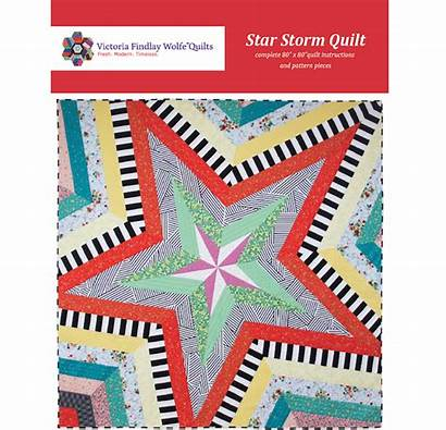 Storm Star Quilt Pattern Patterns Bestsellers Kits