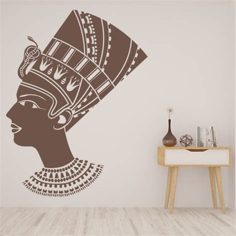 female egyptian wall sticker ancient egypt wall decal