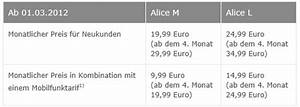 Alice O2 Rechnung : kombinationsvorteile f r alice o2 kunden mobilfunk festnetz ~ Themetempest.com Abrechnung