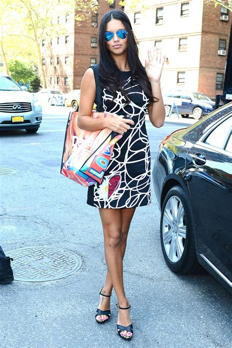 ADRIANA LIMA at Disegual Fashion Show in New York – HawtCelebs