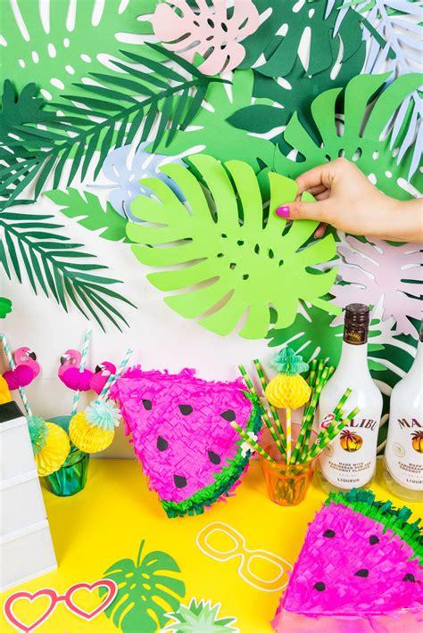 die schoensten sommer party diy ideen  kreative anleitungen