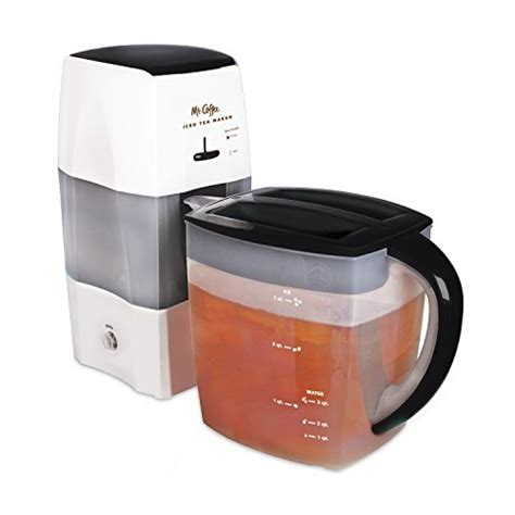 Coffee iced coffeemaker brews your favorite iced coffee in less than four minutes, using new a technology called rapidchill brewing. Mr. Coffee 3-Quart Fresh Tea Iced Tea Maker - MicroMally