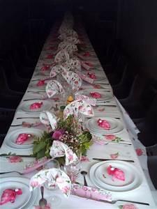Deco De Table Communion : rose et blanc ~ Melissatoandfro.com Idées de Décoration