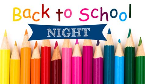 Back to School Night Clip Art