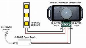 Sensky Bs009 12v 24v Pir Sensor Led Motion Sensor Switch