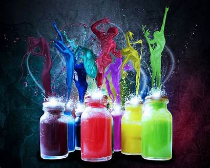 Colorful Wallpapers Backgrounds Bottles Elegant Pc Freecreatives