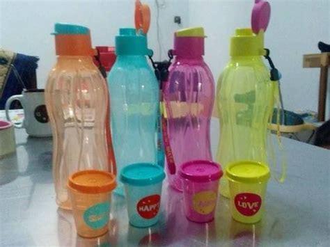 jual tupperware eco bottle ml flip top tempat minum