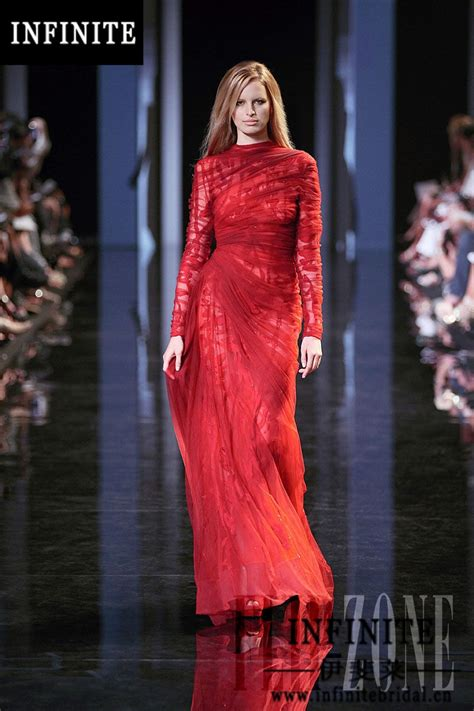 Elie Saab Red Dress  Clothing From Luxury Brands