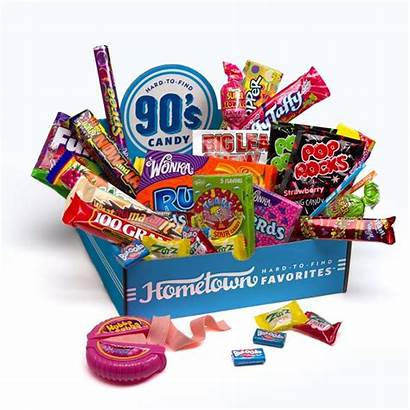1990s Candies Candy 1990 Retro Gift Box