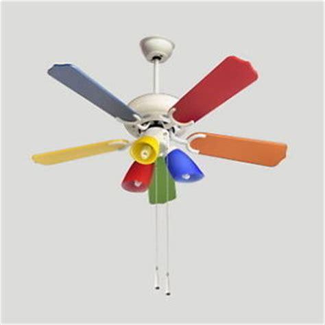 multi fan ceiling multi colored ceiling fan warisan lighting