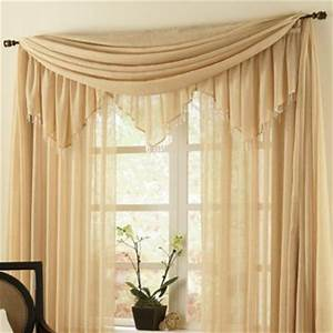 Crushed Voile Ascot Valance from Through the Country Door