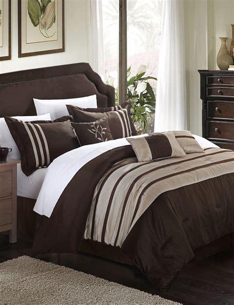 home design comforter chic home design 7 pc luxury brown taupe microfiber