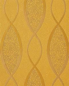 Tapeten Retro Style : edem 1018 11 tapete geschwungene designer linien 70er ~ Sanjose-hotels-ca.com Haus und Dekorationen